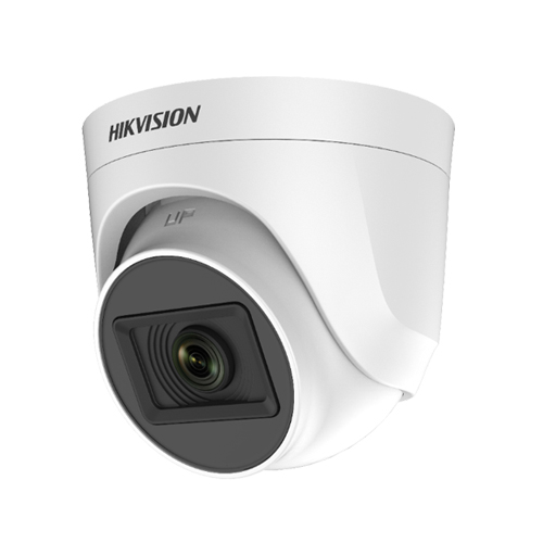Hikvision DS-2CE76H0T-ITPF 5MP Fixed Audio Dome Camera