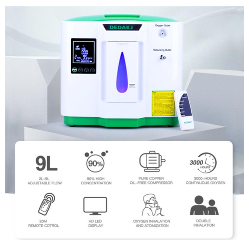 Dedakj DE-2AW Oxygen Concentrator